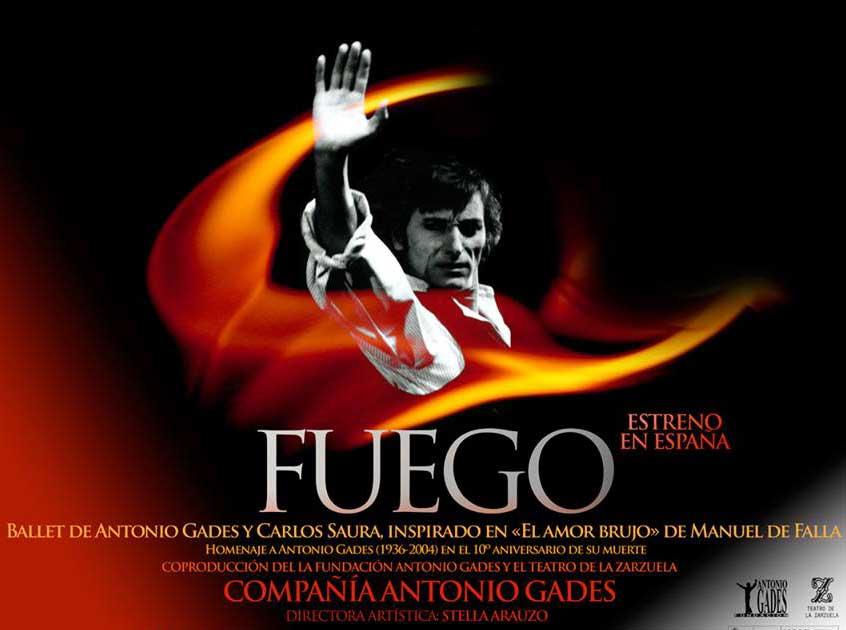 fuego- Antonio Gades